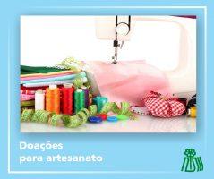 doação artesanato