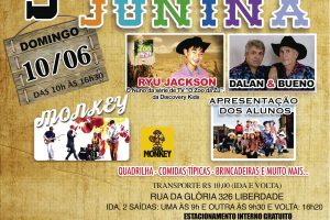 cartaz junina